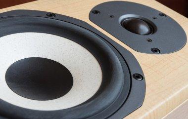 Loudspeaker closeup