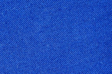 Blue cotton fabric texture background.