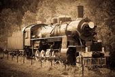 Fotografie Stará parní lokomotiva