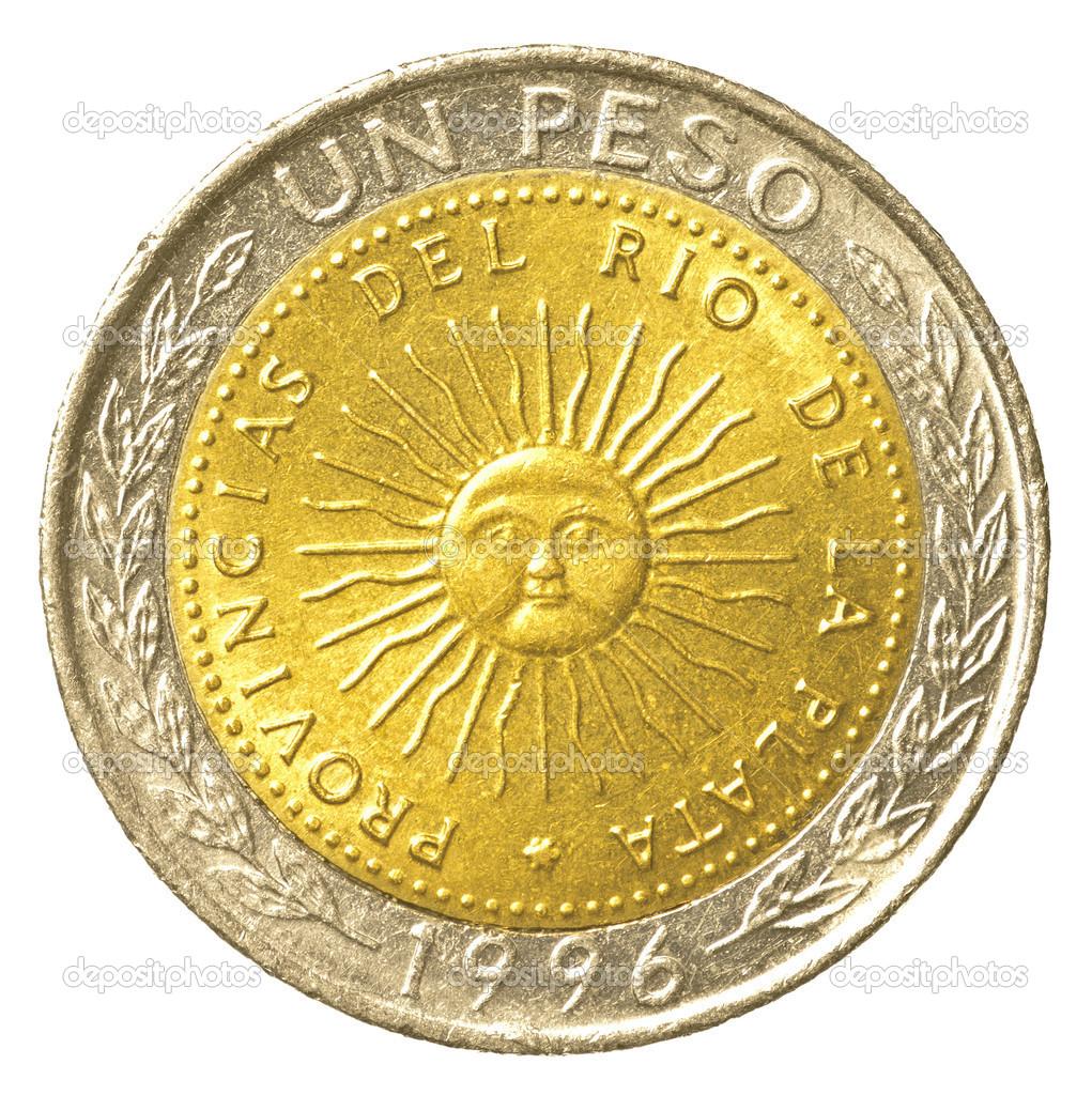 One Argentinian Peso Coin Stock Photo Asafeliason 23800683