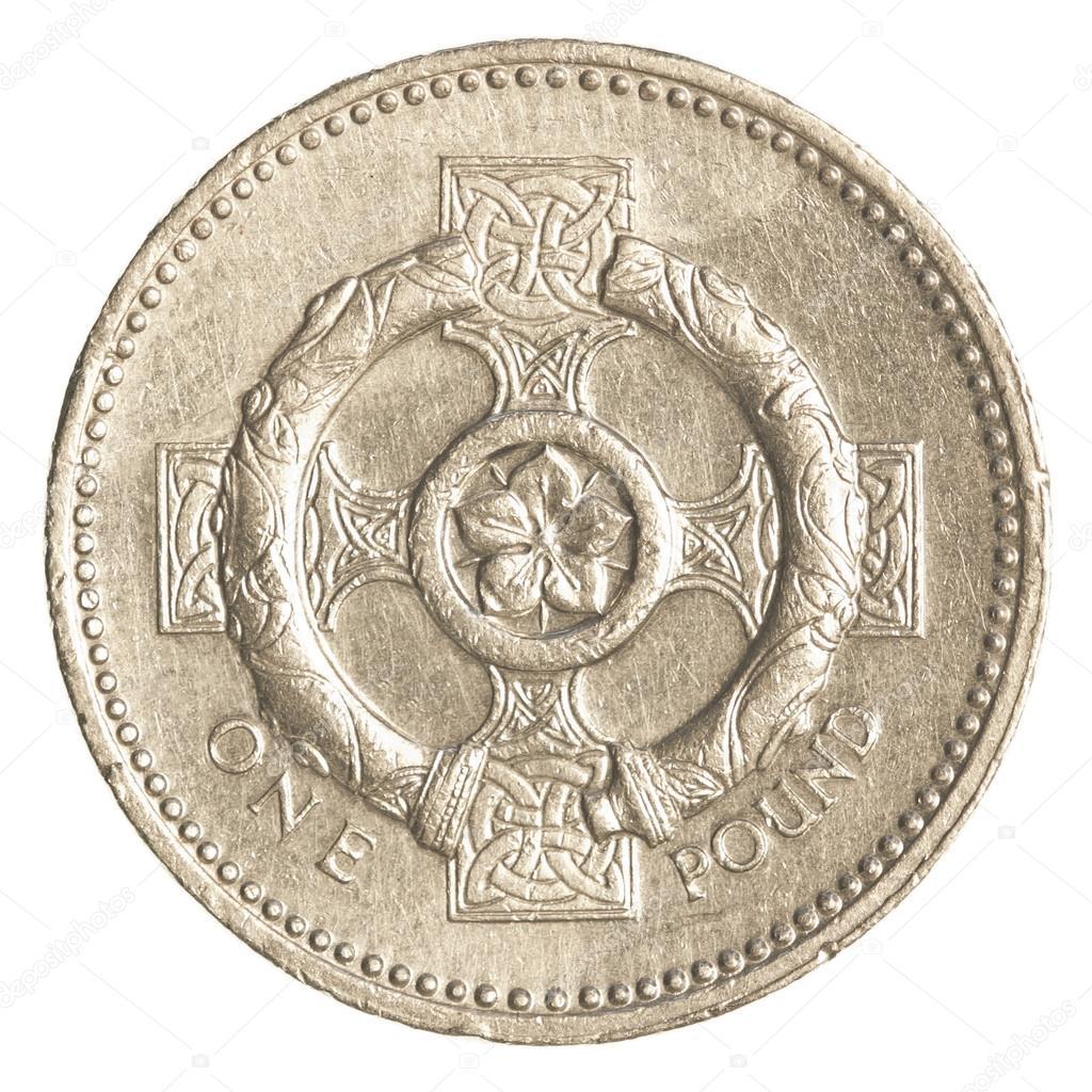 Eine Britische Pfund Münze Stockfoto Asafeliason 23811333