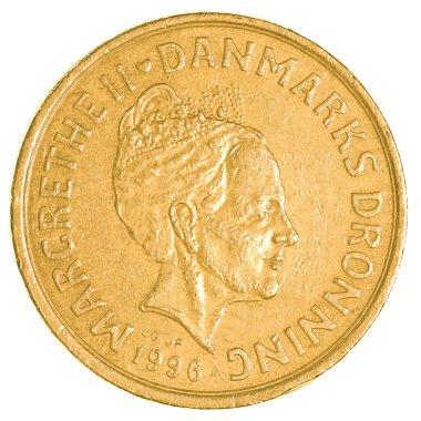 20 danish krone coin
