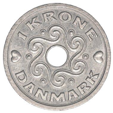 1 danish krone coin
