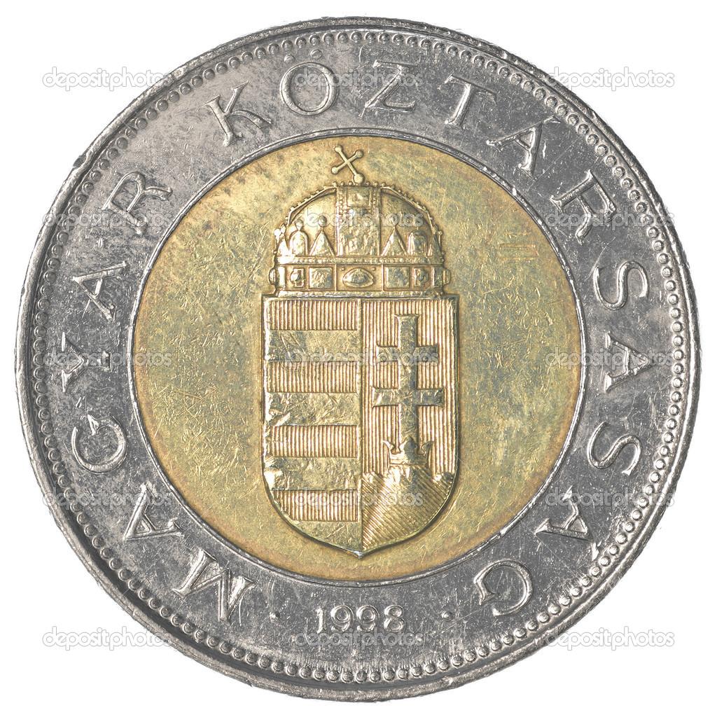 100 Ungarische Forint Münze Stockfoto Asafeliason 40456619