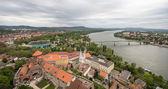 Photo view from Esztergom Basilica, Esztergom, Hungary