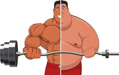 Athlete & fatso