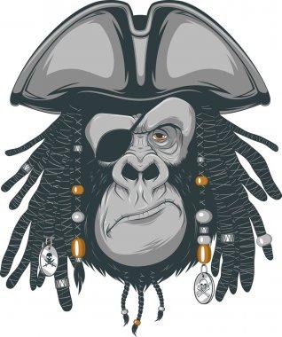 gorilla pirate