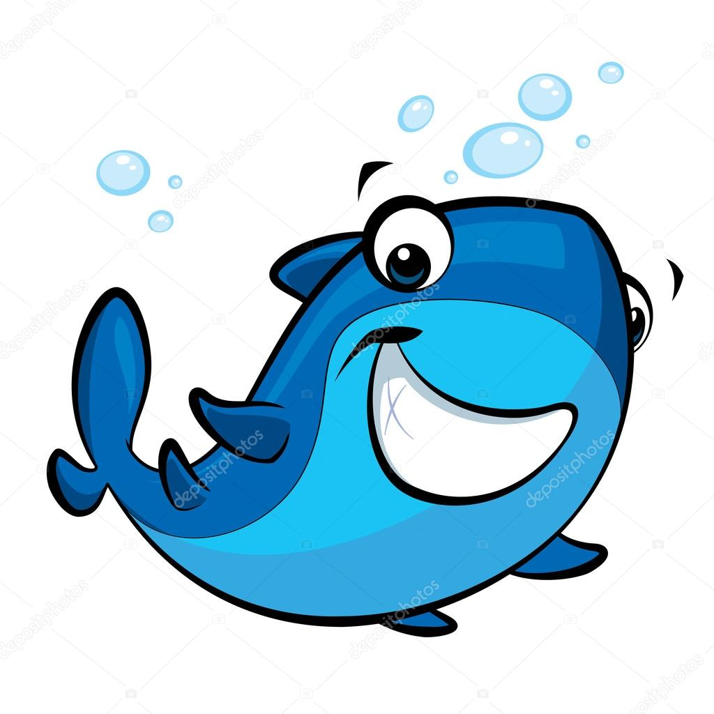 Imagenes Caricatura Tiburon Caricatura Sonriente Bebe Tiburon