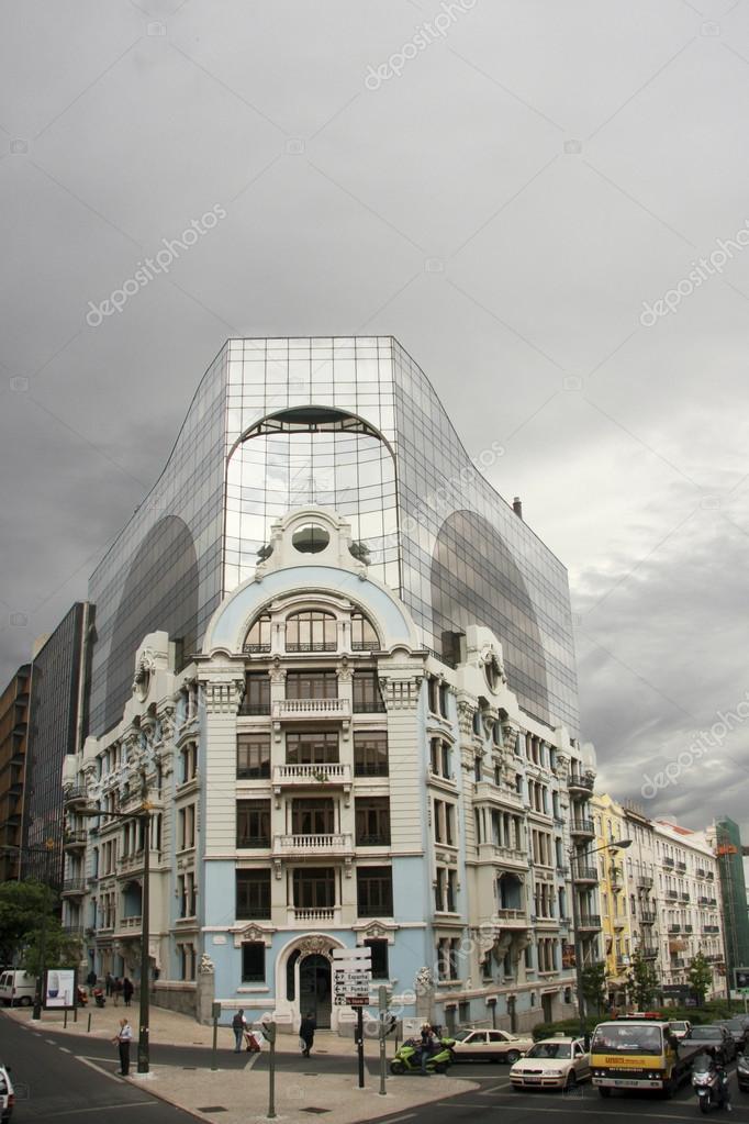edificio heron ist castilho, ein hochhaus wohn- und bürogebäude, Hause ideen