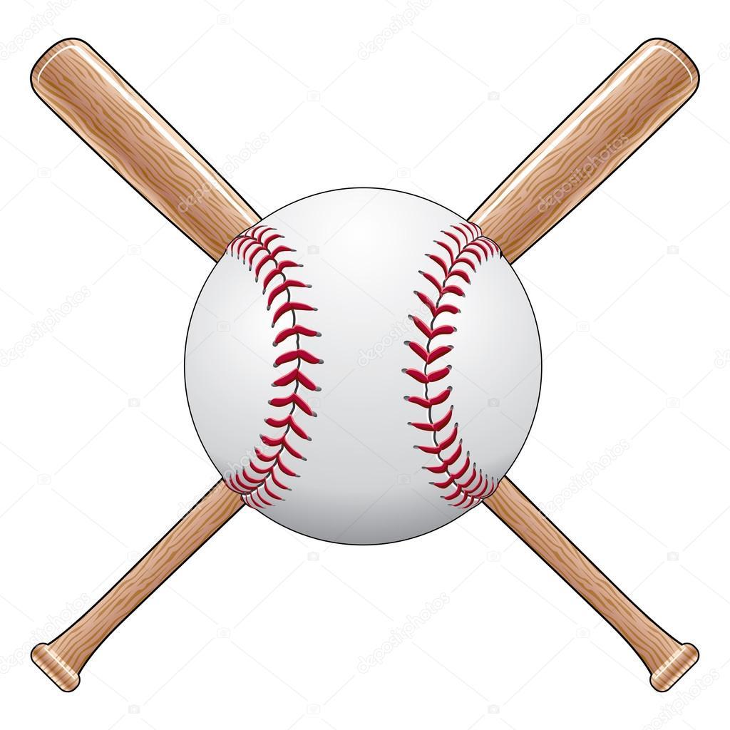 Baseball With Bats Stock Vector C Awesleyfloyd 23375104