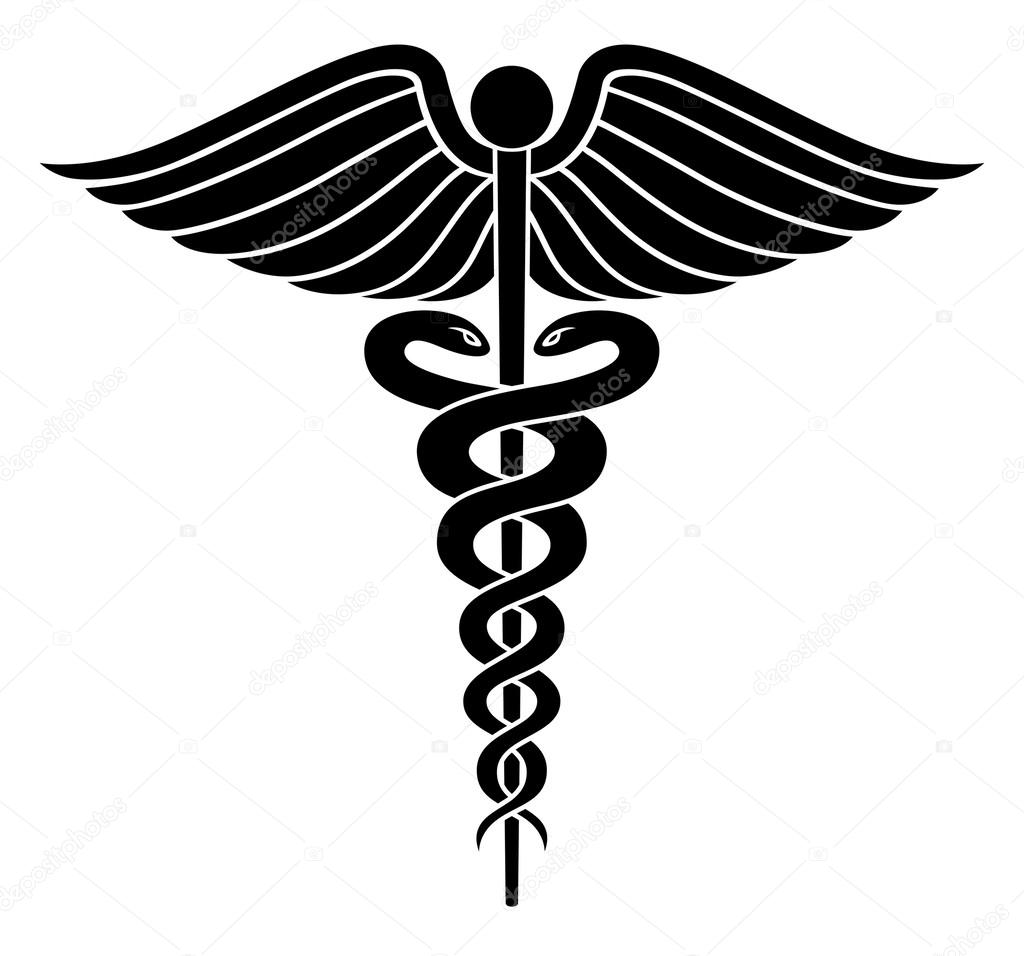caduceus medical symbol ii stock vector awesleyfloyd 25204779 rh depositphotos com veterinary medical symbol vector medical symbol vector meaning