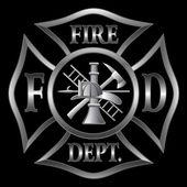 Feuerwehr cross Silber