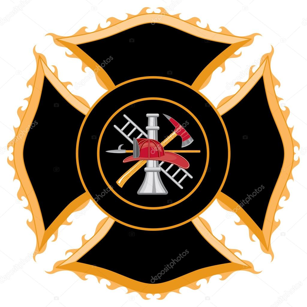 Fire department or firefighters maltese cross symbol stock fire department or firefighters maltese cross symbol stock vector 26529029 biocorpaavc