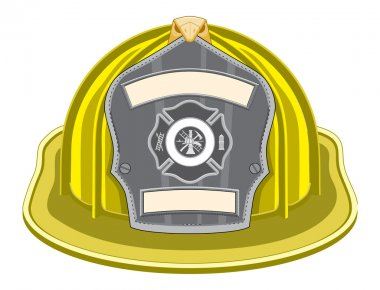 Firefighter Yellow Helmet