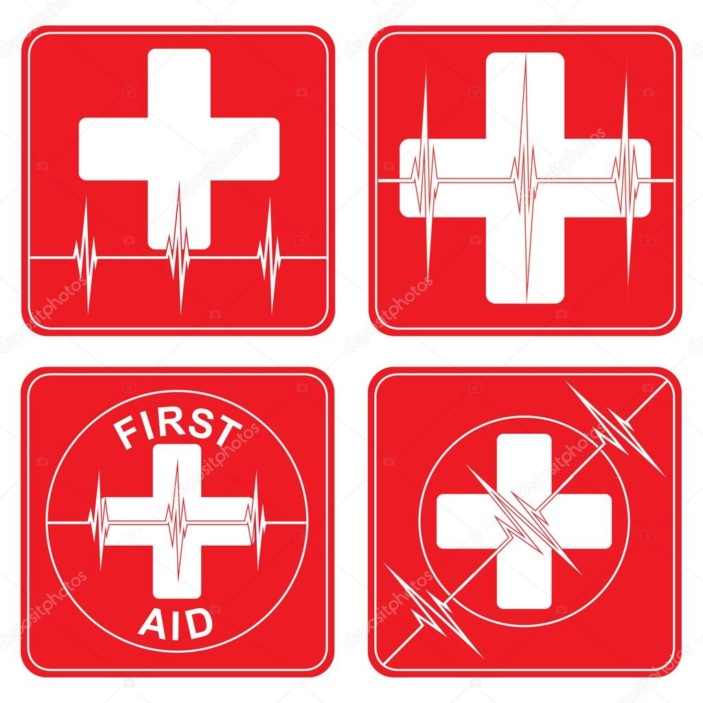 First Aid Medical Symbols Stock Vector Awesleyfloyd 27135319