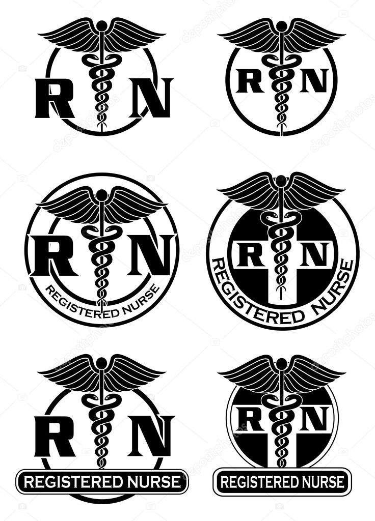 Registered Nurse Designs Graphic Style
