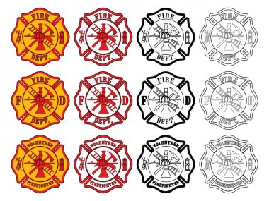 Firefighter Cross Symbol
