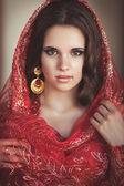 krásná mladá indiánka