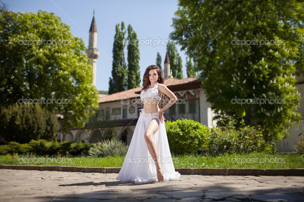 Beautiful Woman Belly Dancer Stock Photo C Armina Udovenko 29903857