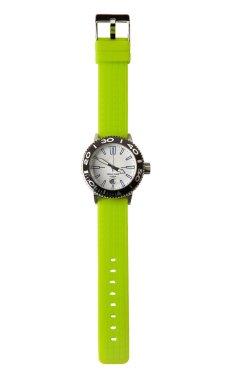 Fluor green sportive watch