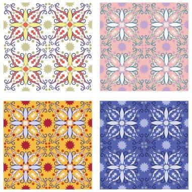 Traditional mediterranean patterns