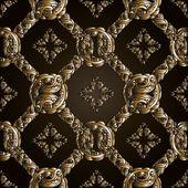 Fotografie Handgezeichnetes Muster