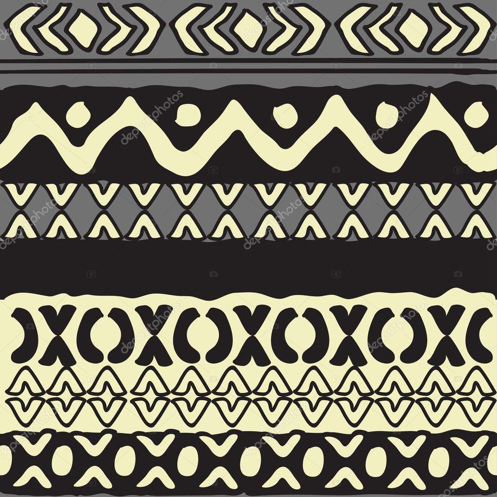 Simple geometrical vector pattern