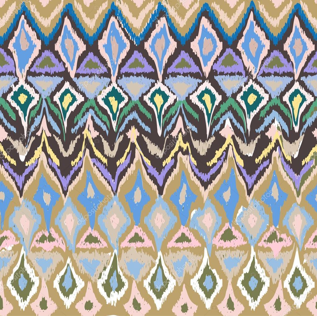 seamless geometrical hand drawn pattern