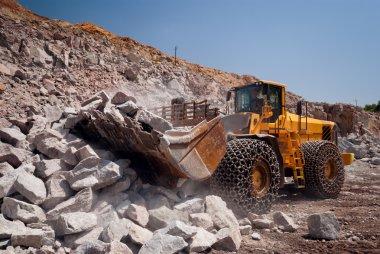 heavy building bulldozer quarry,car (HDR)