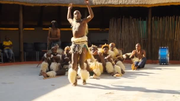 Folk dances of Botswana and South Africa. South Africa Johannesburg 25 May 2012. 6pm