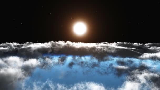 V. repülési a felhők felett