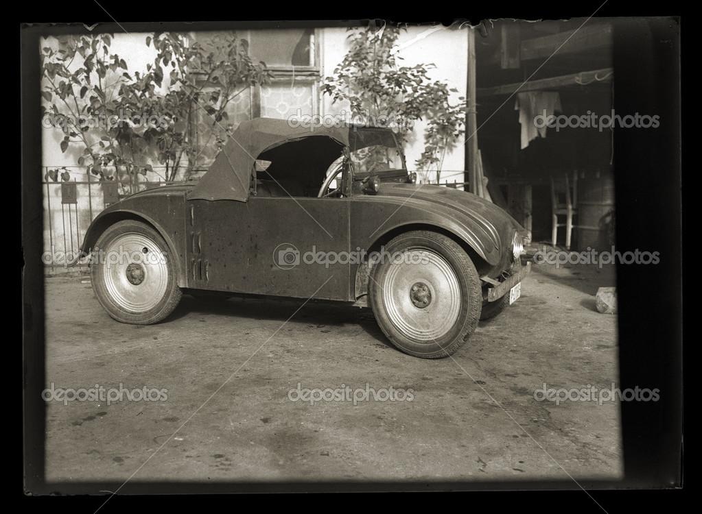 Vintage very rare car – Stock Editorial Photo © habrda #32597397