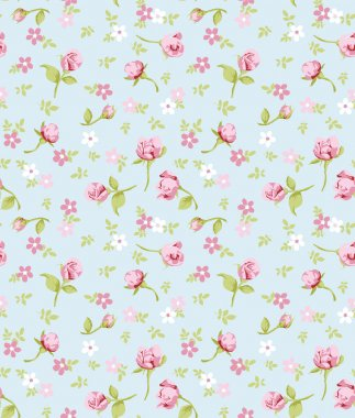 vintage flower seamless pattern background