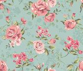 Fotografia sfondo modello di carta da parati classico fiore depoca senza soluzione di continuità