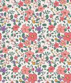 Nahtlose Vintage winzigen Blumen Hintergrundmuster
