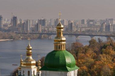Autumn Kiev cityscape