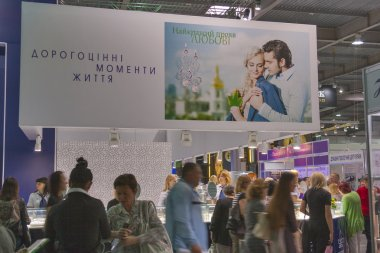 Kyiv Jewelry Factory booth during Spring Jeweller Expo