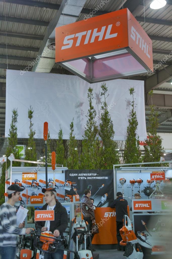 Stihl Germany company booth – Stock Editorial Photo © panama7 #24126167