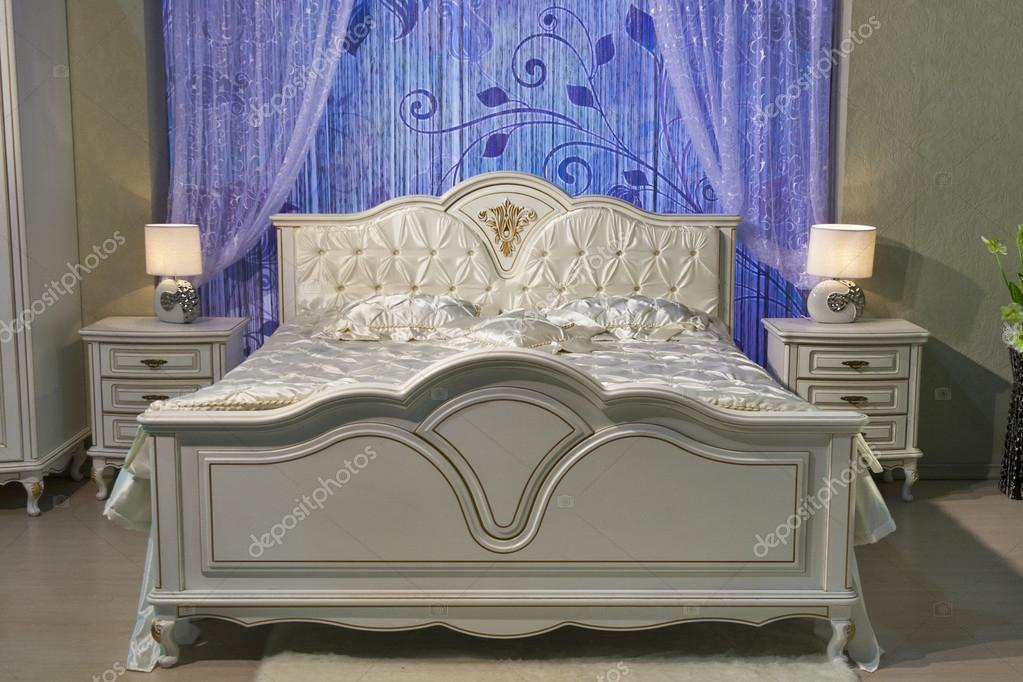Barokke slaapkamer u stockfoto panama