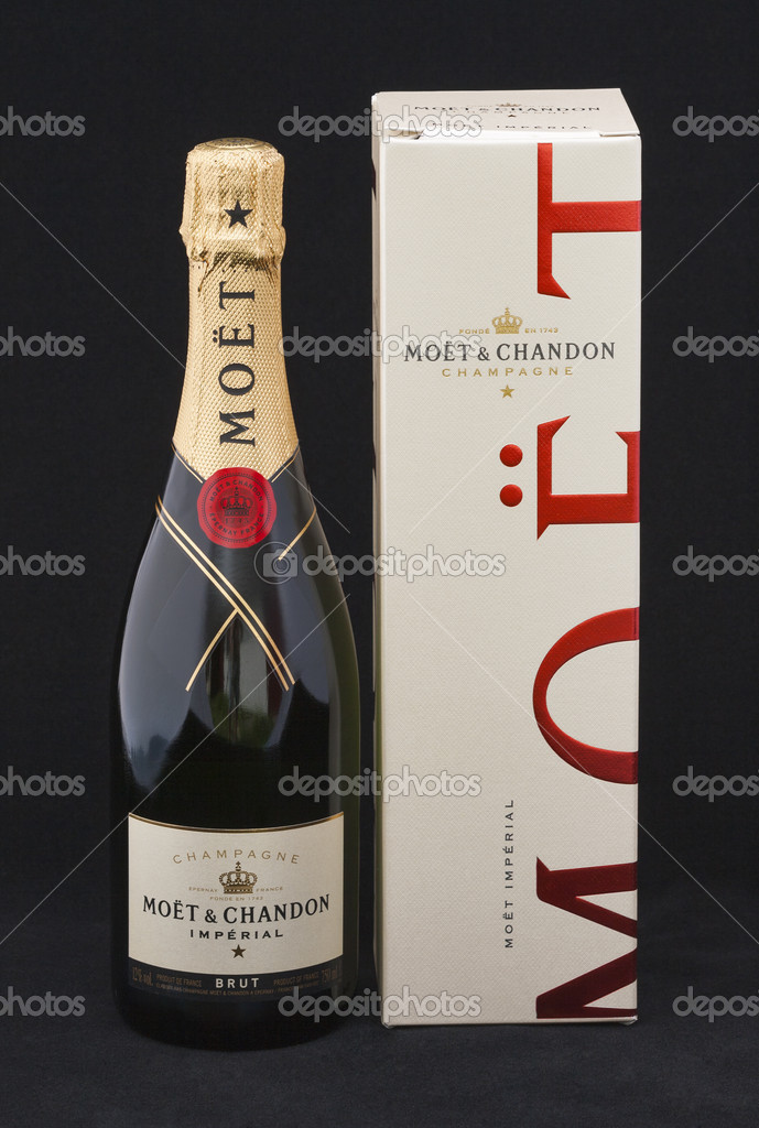Moet Chandon Brut Imperial şampanya Stok Editoryel Fotoğraf