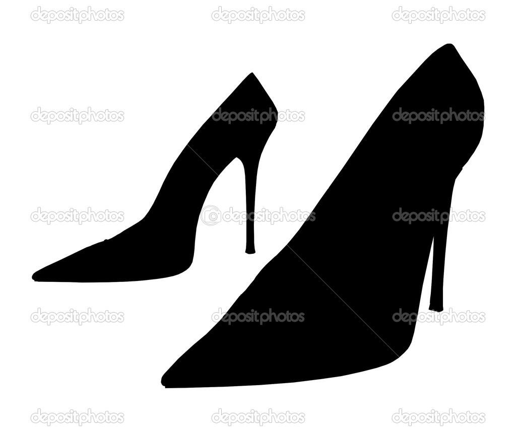 — Zapatos Vectores De Vector Mujer Hermosa pq61z
