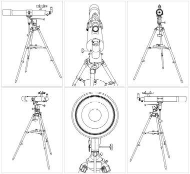 Telescope Vector 03