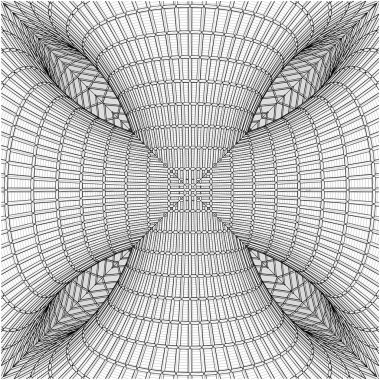 Abstract Structural Construction Vector