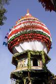 Fotografie Gokarna, Indie - únor 27: festival hinduistické mahashivratri v gokarna
