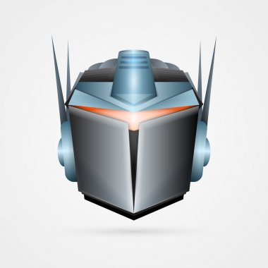 The robot, vector illustration stock vector