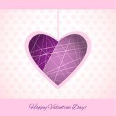 Vektor háttér Valentin-nap