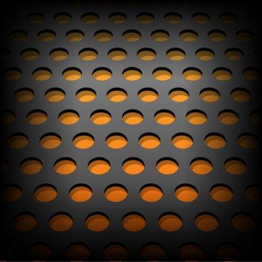 Abstract metallic background. Vector illustration stock vector