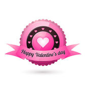 vektorové přání na Valentýna.