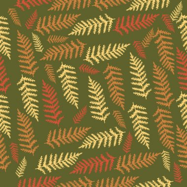 Vector background with leaves. stock vector