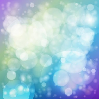 Vector abstract background with bubbles. stock vector